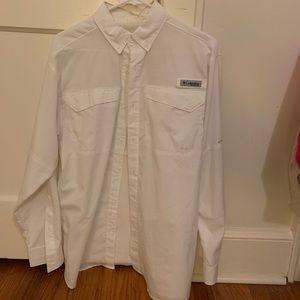 Columbia PFG sun protection fishing shirt